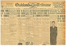 William Edward Hickman Jest's Facing Noose No Clemency February 10 1928 B1