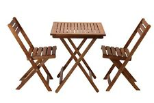 Outdoor Hardwood Timber Setting 2 Seater Outdoor Acacia Furniture Chair Table