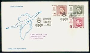 Mayfairstamps GREENLAND FDC 1978 COVER QUEEN MARGRETHE II COMBO wwk93121