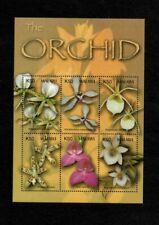 MODERN GEMS - Malawi - 2003 - Orchids - Souvenir Sheet - MNH