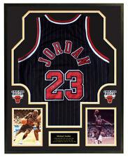 Michael Jordan signed Authentic jersey 23 Chicago Bulls framed w/coa