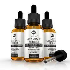 VCH 20% Vitamin C Serum Anti-Aging Hyaluronic Acid & Retinol, Vitamin A 90ml