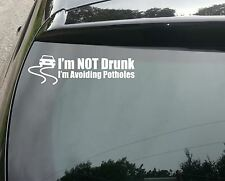 Avoiding Potholes Funny Car/Window JDM VW EURO Vinyl Decal Sticker