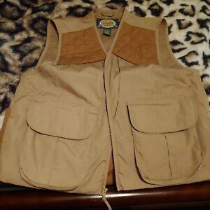 Cabela's Men's Upland Hunting Vest w/Game Pouch Size MED/ REGULAR