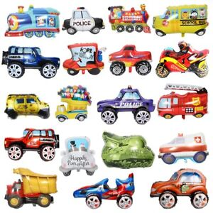 Hot Cool Locomotive Foil Ballon Wedding Car Wedding Kid's Birthday Party Decor M