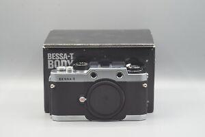 Voigtländer Bessa T Film Camera Body Boxed with Strap & Instructions