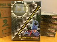 ADVENTURES OF TRON -- for ATARI 2600 Video Game System CASE FRESH --  NOS - NIB