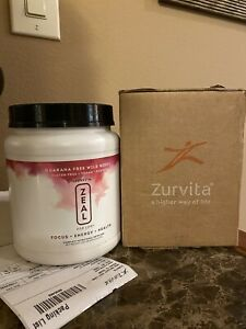 ZURVITA Zeal for Life 30 Day Supply Wild Berry. Factory Sealed with box & label.