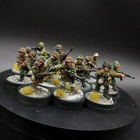 Pro Painted 28mm Bolt Action German Waffen SS (winter uniform) ×11 warlord games