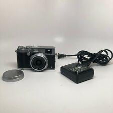 Fujifilm X Series X100T 16.3MP Digital Camera - Silver, Used Good Condition