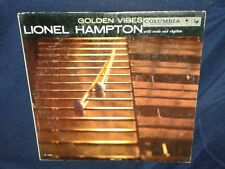 LIONEL HAMPTON, GOLDEN VIBES with REEDS & RHYTHM, 1959 VINYL LP GOOD playtstd