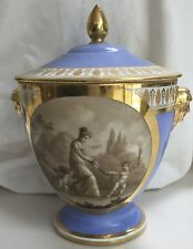 DAGOTY PARIS PORCELAIN SUGAR BOWL C.1810 SEVRES QTY