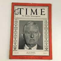 Time Magazine June 3 1935 Vol 25 #22 Former Vice Pres. John Nance Garner