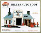 HO SCALE TRAINS BILLYS AUTO BODY SHOP BUILDING KIT