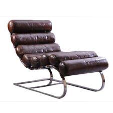 Vintage Leder Design Liege Klassiker Relaxliege Metronom Vintage Cigar antik