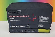 KFZ Verbandkasten 3in1 Warnweste Warndreieck DIN13164 Auto Verbandtasche 01/2026