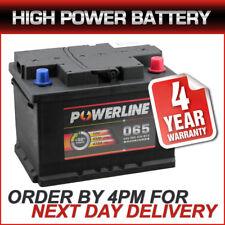 065 High Power Heavy Duty Powerline 12V Car Battery fits many Audi BMW Ford Opel