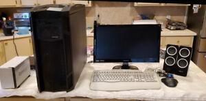 Widows XP 64 Bit Extreme Workstation: 360 SCSI Controller HHDs, SATA HHDs - NAS