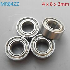 4pcs MR84zz Sealed Bearing 4 x 8 x 3 mm for TAMIYA TRAXXAS ALIGN RC Hobby DIY