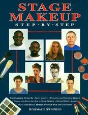 Stage Makeup Step-By-Step: The Complete Guide to Basic Makeup, Plannin-ExLibrary