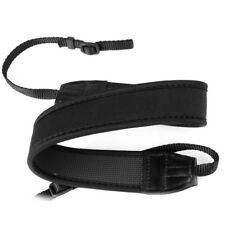 Adjustable Neoprene Neck Strap Shoulder Belt for Canon DSLR SLR Camera Black