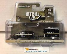 Greenlight  Hitch & Tow * 2014 Ford Interceptor Utility & Small Cargo Trailer