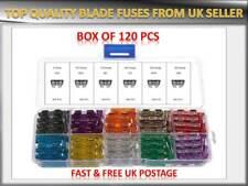 120PCS PUGEOT CAR/VAN AUTO MEDIUM BLADE FUSES BOX *5 10 15 20 25 30 AMP*