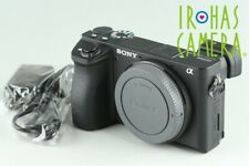 Sony Alpha a6500 Digital Camera With Box *JP Language Only* #24693 D2
