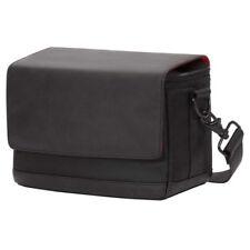 Borse e custodie in tela nera con tracolla per fotocamere e videocamere