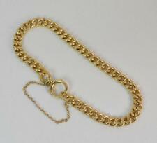 No Stone Yellow Gold Chain Victorian Fine Jewellery