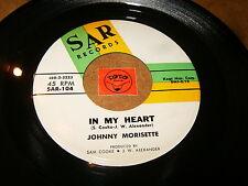 JOHNNY MORISETTE - IN MY HEART - NEVER   / LISTEN - SOUL POPCORN