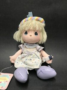 "Vintage 1988 Applause Plush Precious Moments Collectible 11"" Doll January Ed."