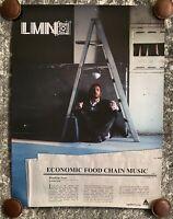 LMNO - Economic Food Chain - Poster - Vintage - New