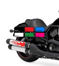 2 X Flame 120 Tanque De Combustible De Fuego Vinilo Motocicleta Motor Decal Sticker Moto Bicicleta