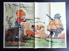 Poster Supplement Boule et Bill Du Journal Spirou N° 1961 1975