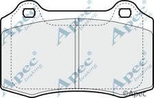 PASTIGLIE FRENO ANTERIORE PER JAGUAR S-Type Genuine APEC PAD1271