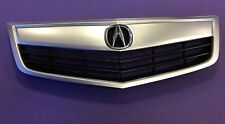 Brand New Acura TSX Front Grille + OEM Emblem With OEM Finished Molding