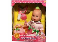 My Sweet Love 1st Birthday Dolls - Ages 3 And Up and includes accessories.
