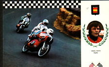 AC1364  SPORTS MOTOR RACING  ANGEL NIETO ESPANA ESCUDO NO 3 MOTO DERBI  POSTCARD