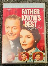 FATHER KNOWS BEST COMPLETE FIFTH SEASON 5 New Sealed 6 DVD Set