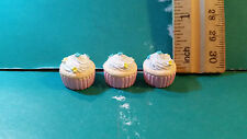 Barbie 1:6 Kitchen Food Miniature Cupcakes