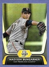 2012 Bowman Platinum #73 Madison Bumgarner S. F. Giants in Near Mint Condition