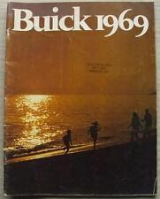 BUICK CAR RANGE USA LF Sales Brochure 1969 Electra WILDCAT LeSabre SKYLARK GS400