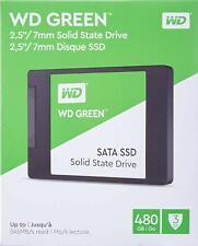 WESTERN DIGITAL WD GREEN 3D SSD 480GB SATA3  2,5 WDS480G2G0A
