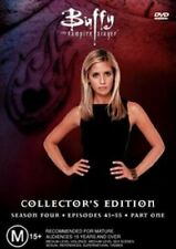 BUFFY Season 4 : Part 1 ( 3 DVD Disc Set ) Vampires Sarah Michelle Gellar