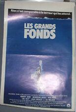 Cinema Poster: DEEP, THE 1977 (Belgian) Robert Shaw