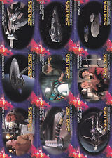 Star Trek:Deep Space Nine-1993 Series-lot 5 -9 Cards