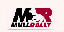 Mull Rally Motorsport Car Sticker,decal graphic