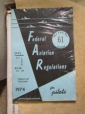 Federal Aviation Regulation for Pilots 1974 Aero Training Books