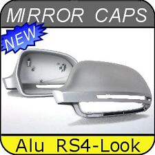 Audi A4 S4 B8 [08-09] Alu Matt Mirror Caps Case Covers